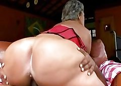 ebony ass lick