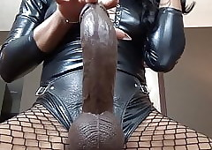 ebony female domination